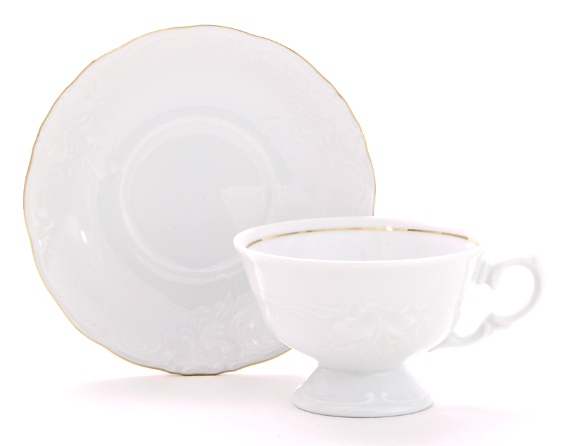 Elegance Fine China Tea Set