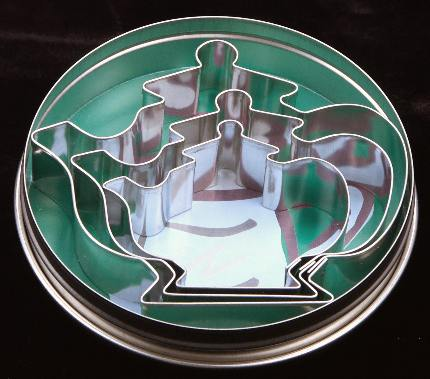 Teapot Cookie Cutter Collection