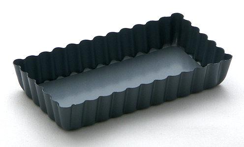 Removable bottom tart pans