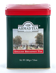 Ahmad Tea English Breakfast Loose Tea in English Tin - 200 g