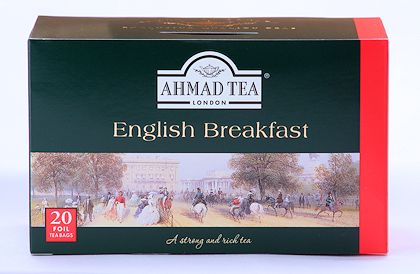 Ahmad Tea English Breakfast Tea - Box of 20 Tea Bags