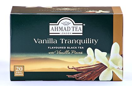 Ahmad Tea Vanilla Tranquility- Box of 20 Tea Bags
