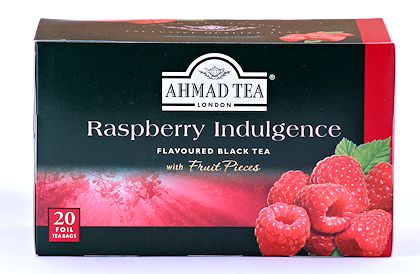 Ahmad Tea Raspberry Indulgence Tea - Box of 20 Tea Bags