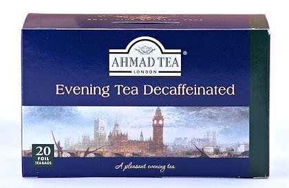 Ahmad Tea Decaffeinated Evening Tea - Box of 20 Tea Bags