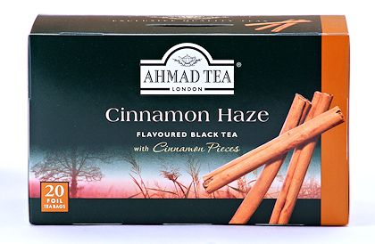 Ahmad Tea Cinnamon Haze Box Of 20 Bags