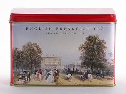 Ahmad Tea English Breakfast Heritage Caddy - 25 Teabags