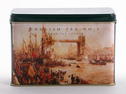 Ahmad Tea English Tea No. 1 Heritage Caddy - 25 Teabags