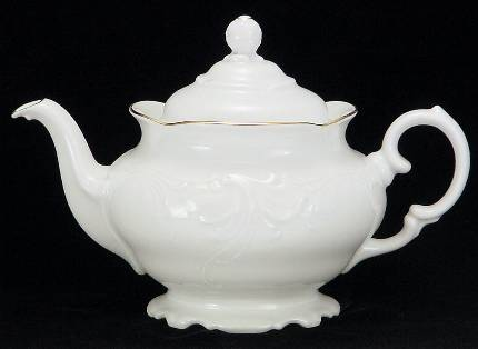 Elegance Fine China Teapot - Medium