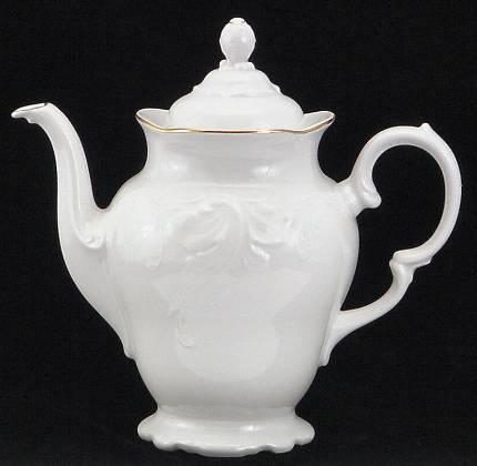 Elegance Fine China Coffee Pot