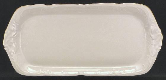 Elegance Fine China Sandwich Tray
