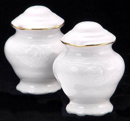 Elegance Fine China Salt and Pepper Shakers