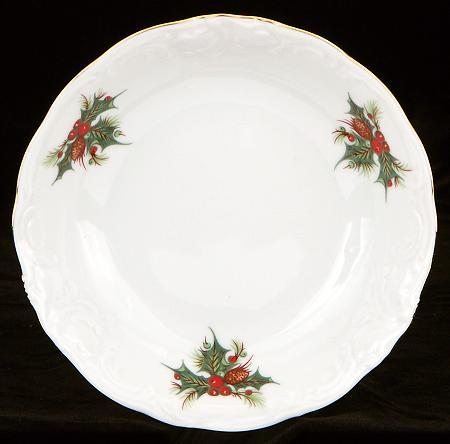 Christmas Berry Fine China Sauce Dish