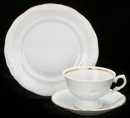 Elegance Fine China Starter Setting (Bonus $10 Gift Certificate! Limit 2.)