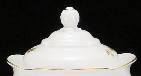 Rose Bouquet Fine China Large Teapot Lid