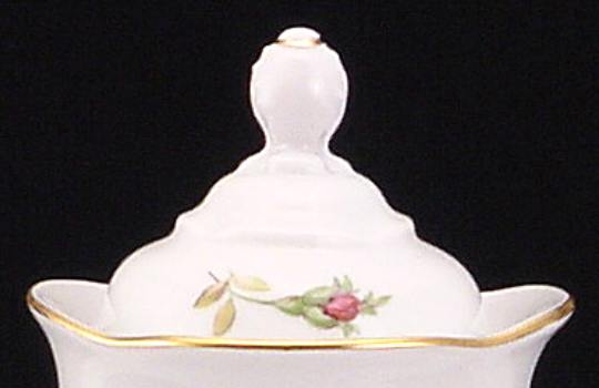 Rose Bouquet Fine China Coffeepot Lid