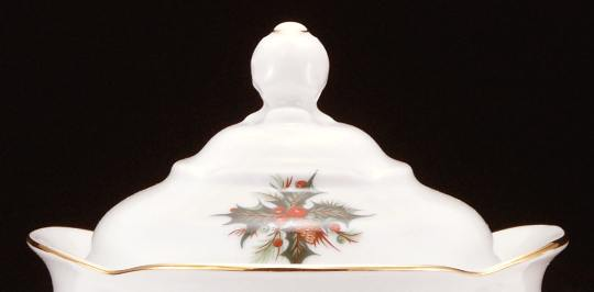 Christmas Berry Fine China Large Teapot Lid