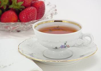 Practically Perfect Strawberry Tea